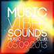 Vibe Sound Flyer - GraphicRiver Item for Sale