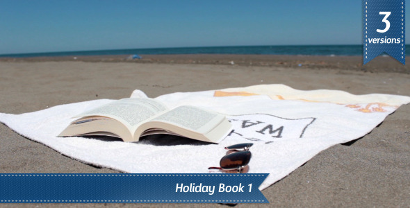 VideoHive Holiday Book 1 5509119