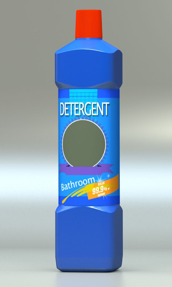 3DOcean Detergent Bottle 5510976