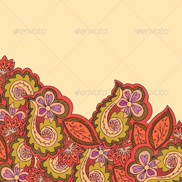 GraphicRiver Decorative Ornamental Border 5511148