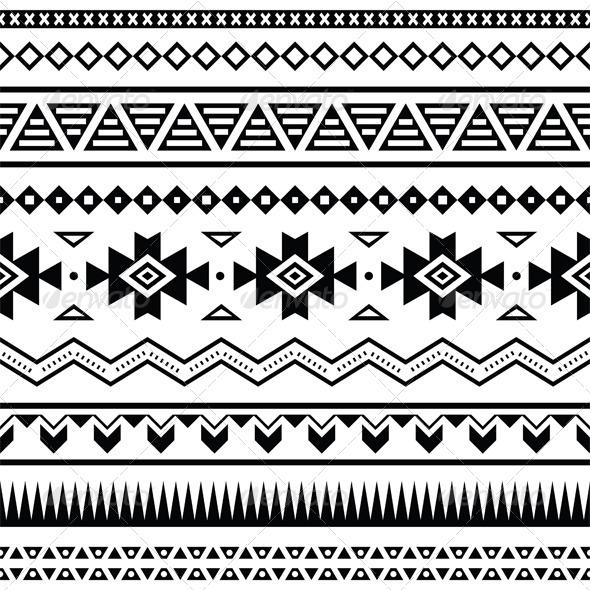 Aztec Coloriage