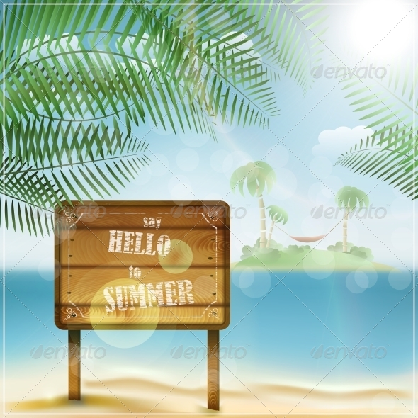 GraphicRiver Say Hello to Summer 5511467