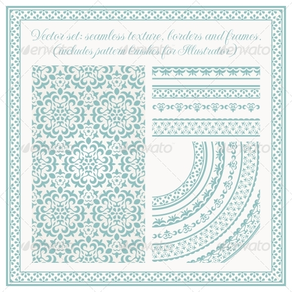 GraphicRiver Vector Set of Design Elements 5511554