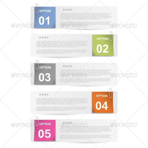 GraphicRiver Clipped Paper Notes 5511603
