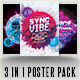 Dance All Night 3 Poster Pack - GraphicRiver Item for Sale