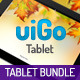 uiGo Tablet » UI Bundle - GraphicRiver Item for Sale