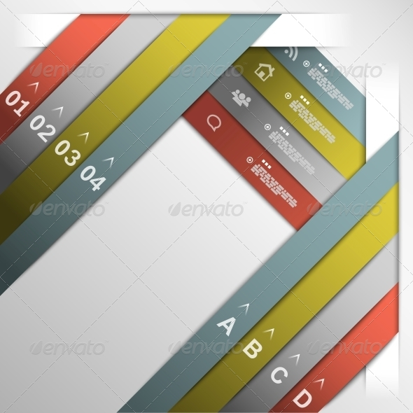 GraphicRiver Ribbon Option Template 5511645