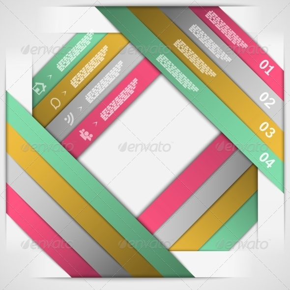GraphicRiver Paper Strips Choice Template 5511803