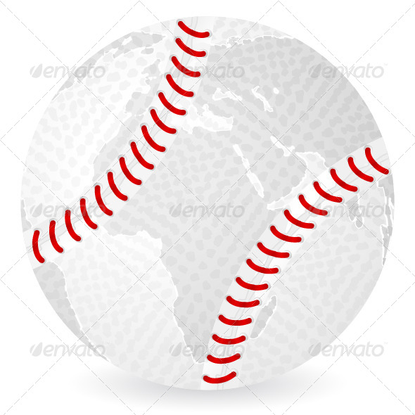 GraphicRiver World Map Baseball 5512106