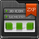 SmartIcon - 3D Icon Generator - Panel and Actions - GraphicRiver Item for Sale