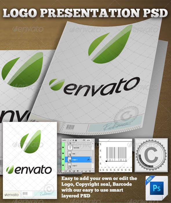 GraphicRiver Logo Presentation Display 5487708