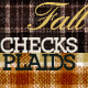 Plaids & Checks Patterns for Fall or Autumn