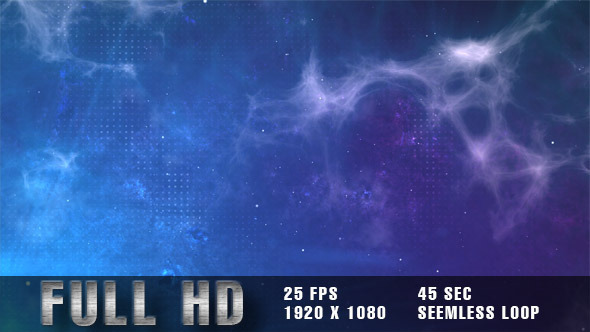 VideoHive Cosmic Clouds Loop Background 5513625
