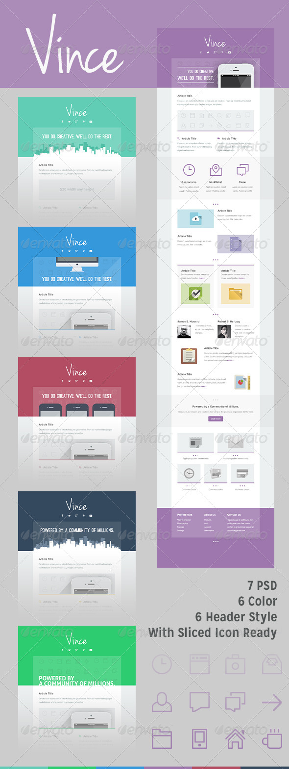 GraphicRiver Vince Mail 5513663