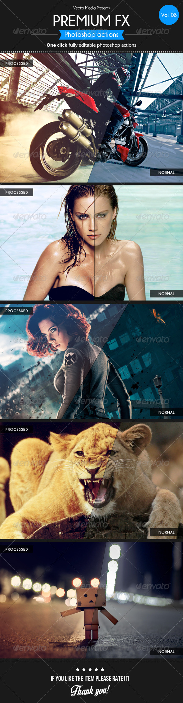 GraphicRiver Premium FX Actions [Vol.8] 5513667