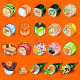 Japanese Sushi Collection Set - GraphicRiver Item for Sale