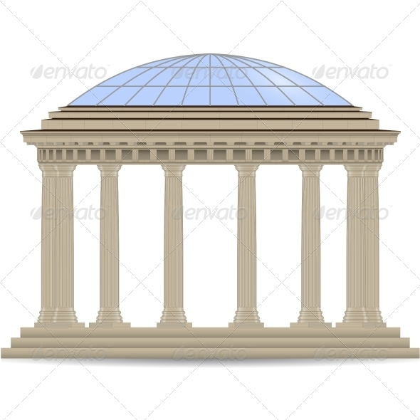 GraphicRiver Stone Rotunde 5514348