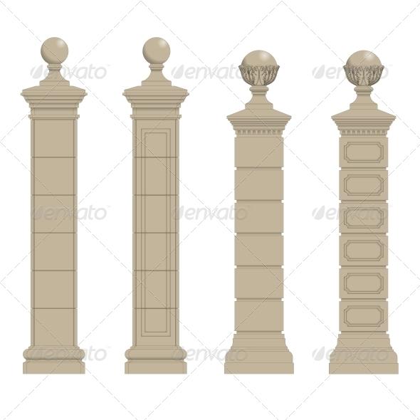 GraphicRiver Set of Columns 5514389