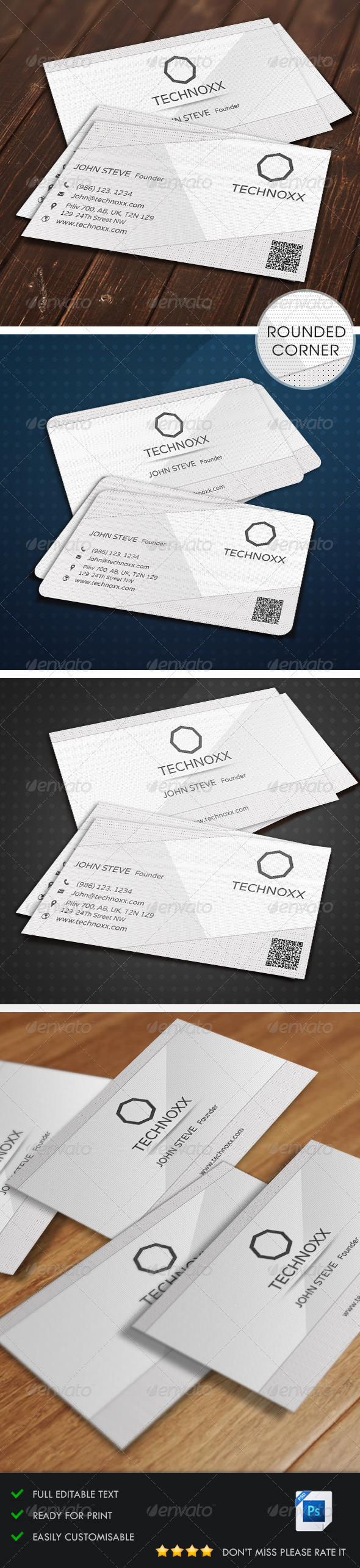 GraphicRiver Creative Clean Business Card v4 5514423