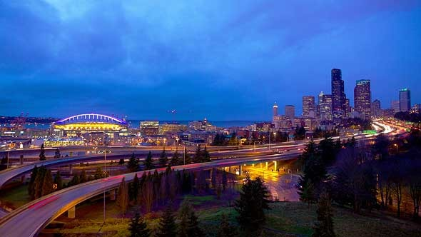 VideoHive Seattle City Lights 5514986