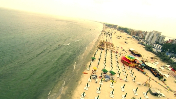 VideoHive Flying Over Seaside 5515176
