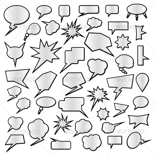 GraphicRiver Speech Bubbles Set 5515239