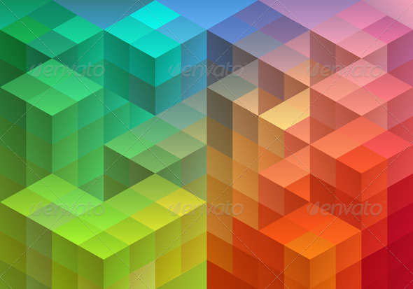 GraphicRiver Abstract Geometric Background 5515328
