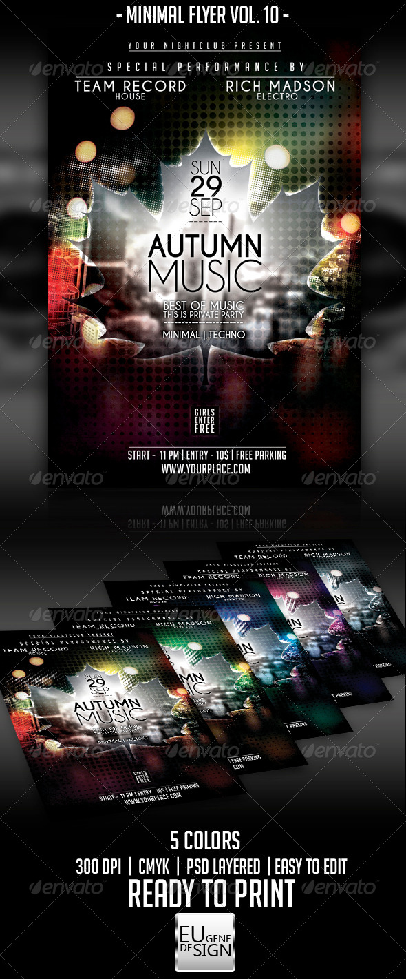 GraphicRiver Minimal Flyer Vol 10 5515505