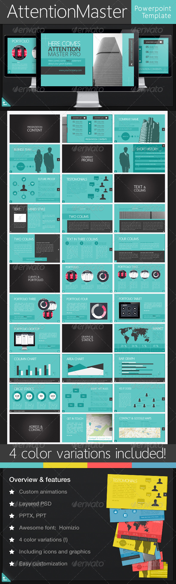 GraphicRiver Attention Master 5515580