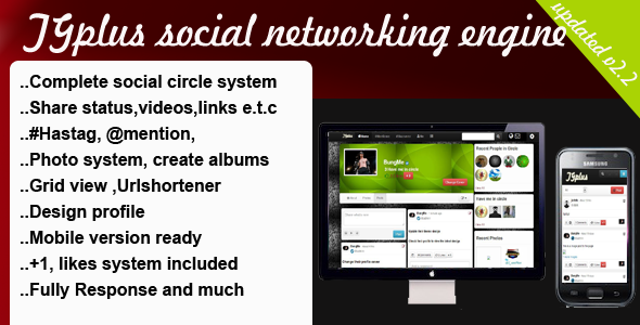 Free Tgplus Social Networking Engine download from fast server. Files 100%  virus-free and 100% working.