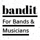 Link toBandit - one page template for bands and musicians