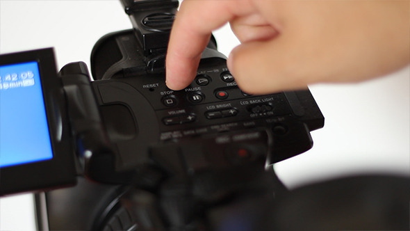 VideoHive Rewinding and Fast Forwarding on Video Camera 5516857