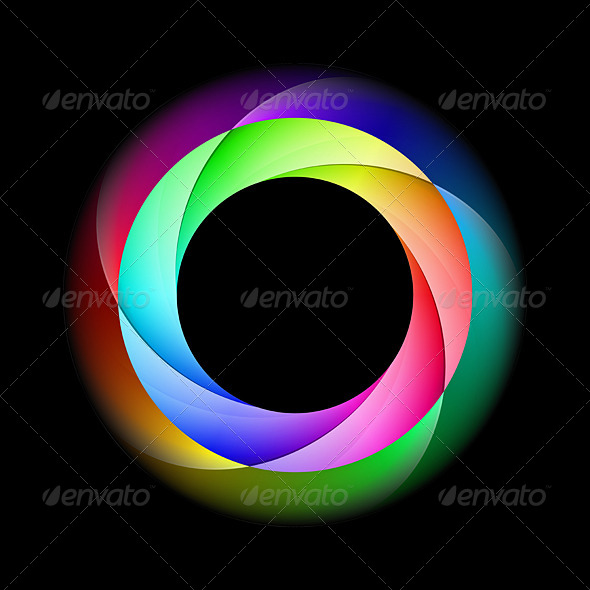 GraphicRiver Colorful Spiral Ring 5517303