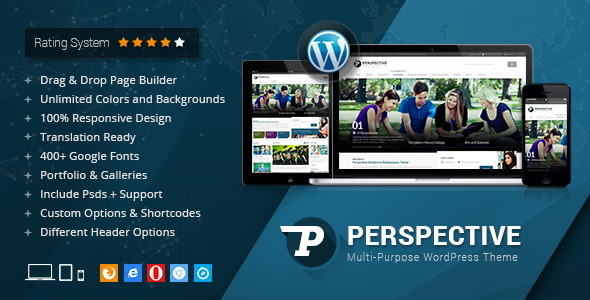 Perspective - Responsive Multi-Purpose Theme