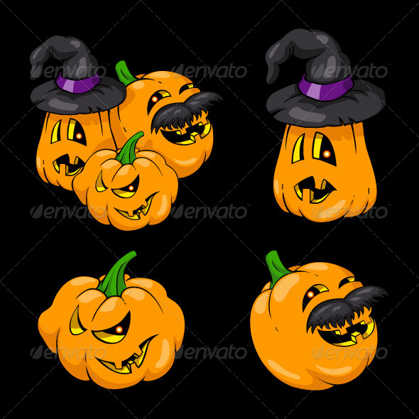 GraphicRiver Halloween Pumpkins 5517854
