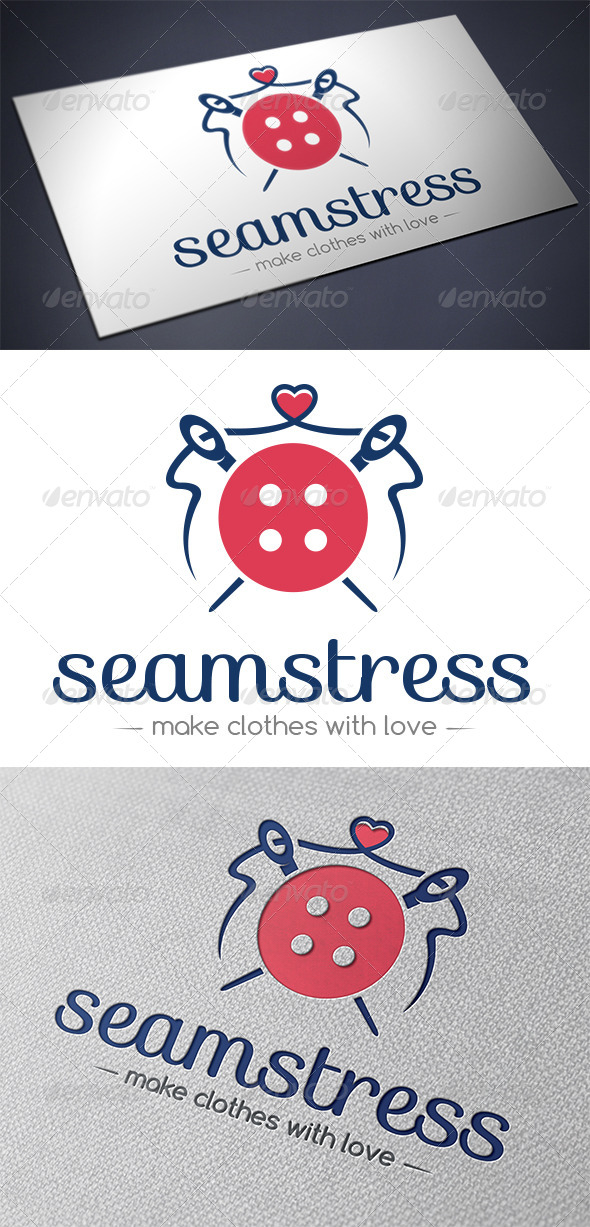 GraphicRiver Seamstress Logo Template 5518115
