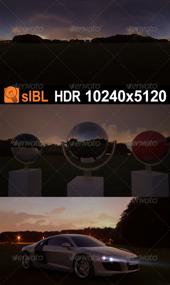 HDR 121 Night Sky sIBL - 3DOcean Item for Sale