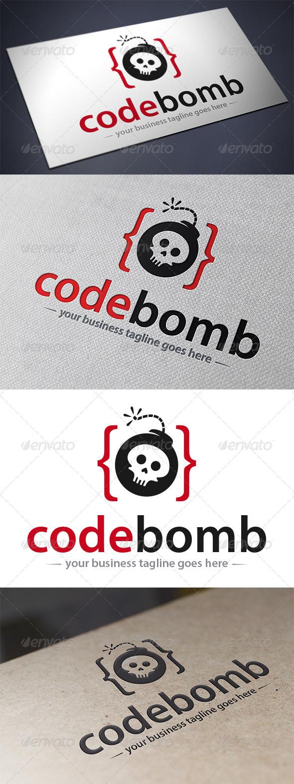 GraphicRiver Code Bomb Logo 5518251