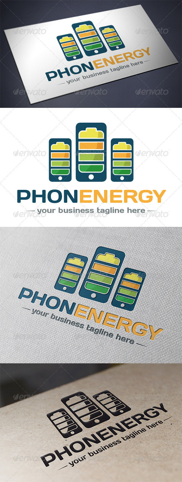 GraphicRiver Phone Energy Logo Template 5518286