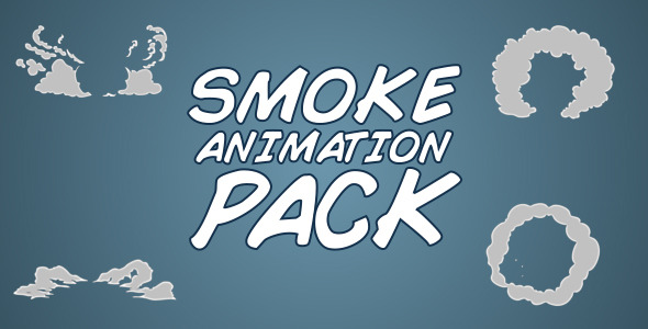 VideoHive Smoke Animation Pack 5518625
