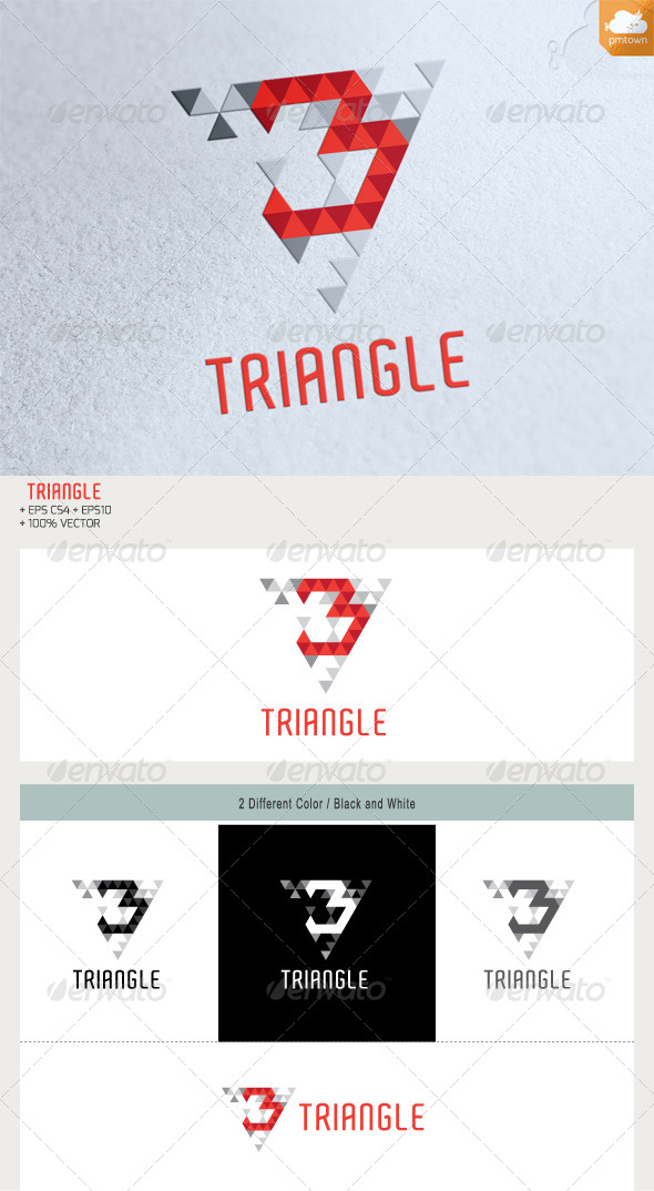 GraphicRiver 3 Triangke Logo 5519575