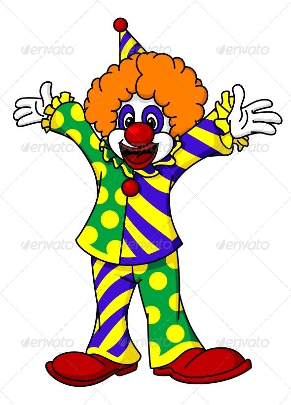 GraphicRiver Circus Clown 5520653