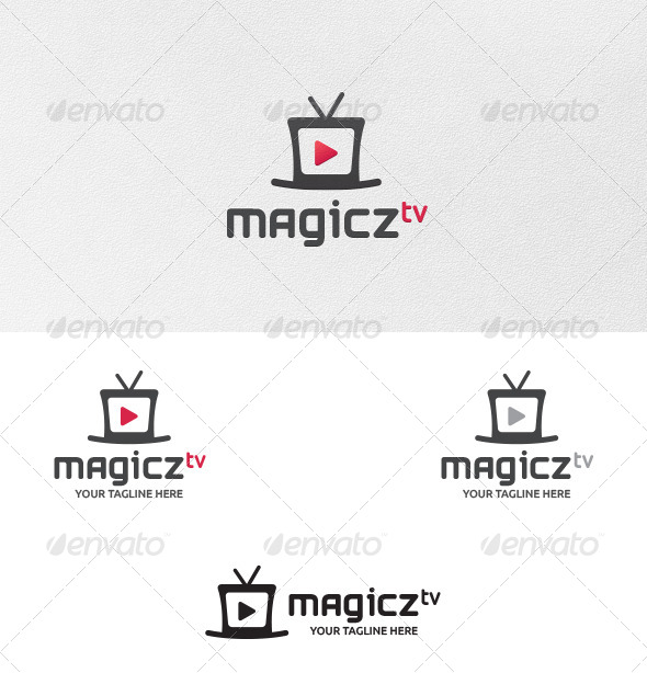 Magics TV Logo Template