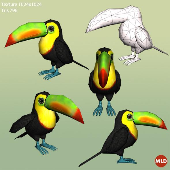 3DOcean Toucan Parrot 5515684
