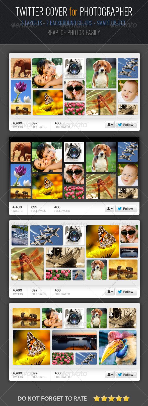 GraphicRiver Multipurpose Twitter Cover Design 5520886