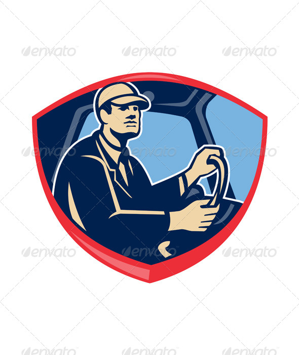 GraphicRiver Bus Truck Driver Side Shield 5521283