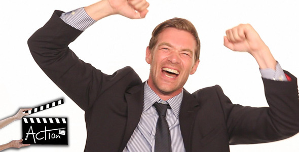 VideoHive Businessman Excited 5522020