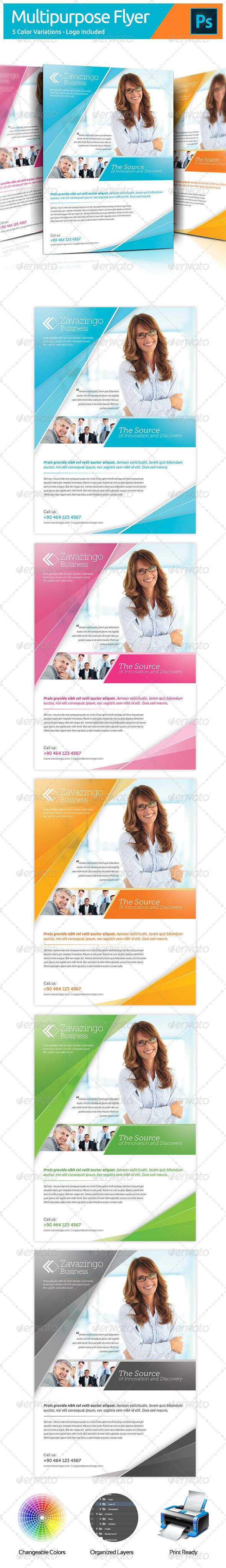 GraphicRiver Multipurpose Flyer 5522302