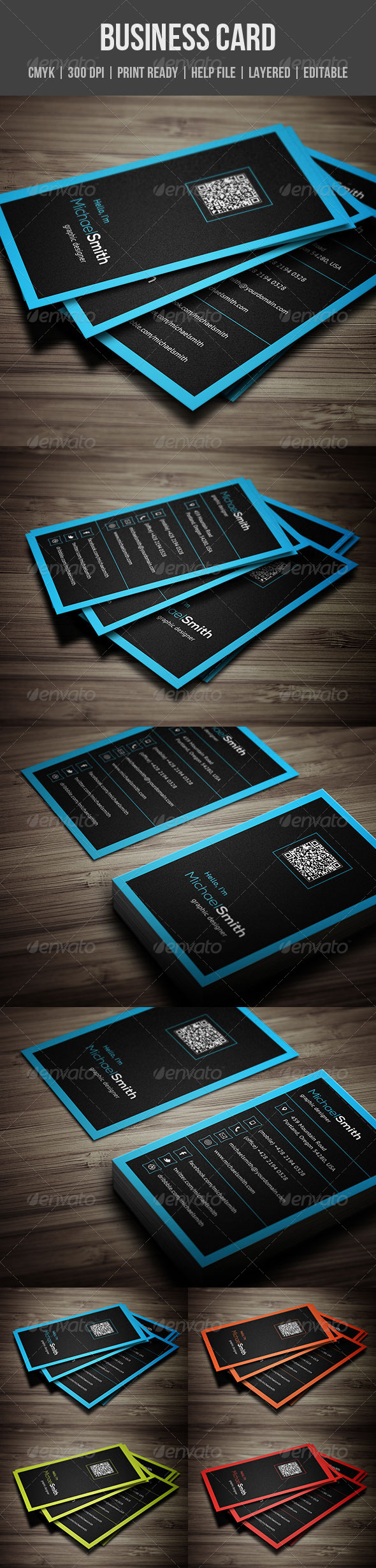 GraphicRiver Personal Business Card 5522316