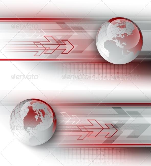 GraphicRiver Arrows Vector Background 5522345